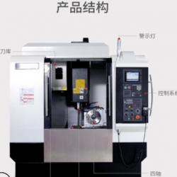 钜匠数控厂家直销760M模具精雕机高速精密加工金属成型数控机床