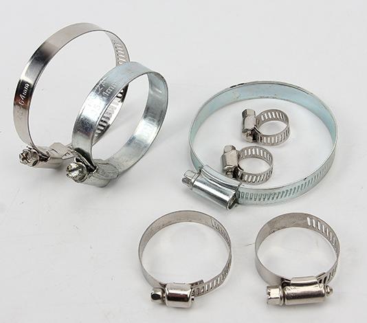 不锈钢喉箍/全钢卡箍/抱箍/管卡/支架管箍0-300-650 超长超大订做