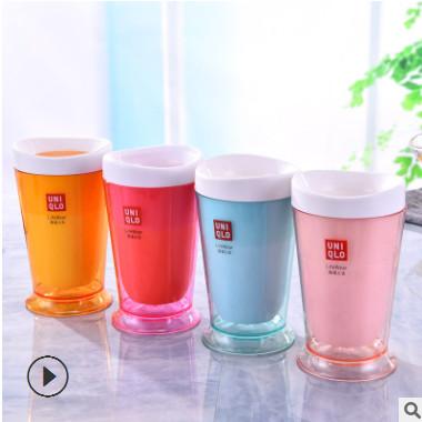 工厂直销沙冰杯 制冰杯创意柠檬冰激凌杯无需插电自制奶昔杯代发