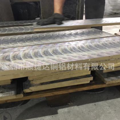 耐磨五金加工件锡青铜板QSN555高硬度模具CNC铣光面倒角锡青铜板
