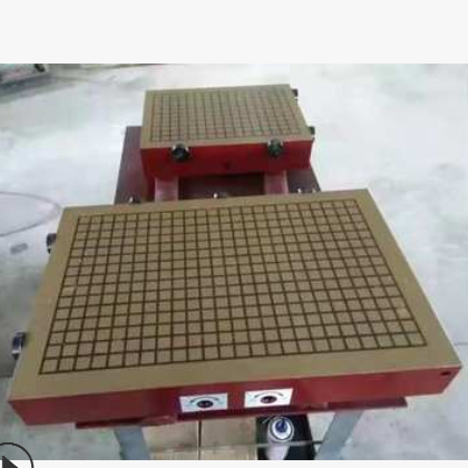 厂家直销方格300*500加工中心CNC强力永磁吸盘数控铣床永磁吸盘