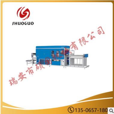 诚信厂家直供SGS--700/1200塑料打杯机 高效塑料片材成型机