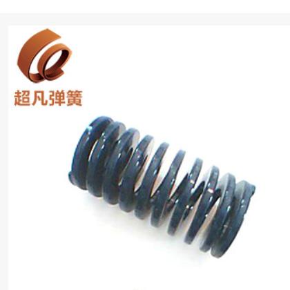 厂家直销 专业定做 黑色大型模具弹簧 高强度电器模具弹簧