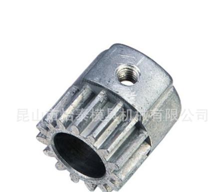 供应锌合金皮带轮 锌合金精密件 模具+产品