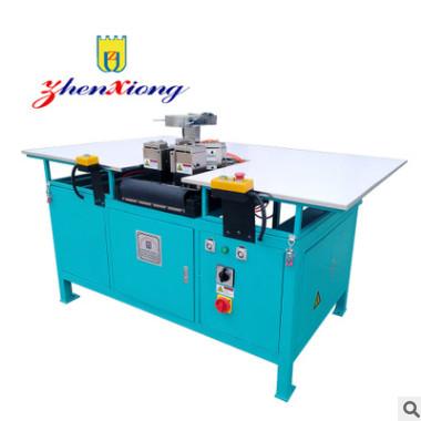 厂家直销青岛震雄双角双焊门封条焊接机