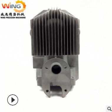 底价压铸铝合金散热配件可后续表面处理加工