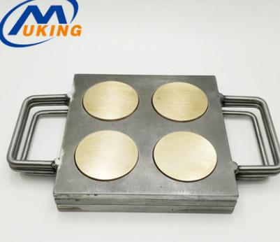 圆形压粉模生产厂家 直径52.2mm粉饼铝盘专用压粉模工具 厂家直供