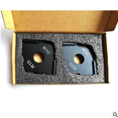 修边机圆弧模板半圆角快速定位器模板木工雕刻机半圆角快速定位器