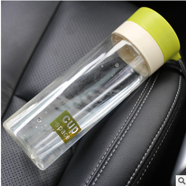 Water bottle 透明糖果色情侣杯 免费设计印字印LOGO礼品水杯