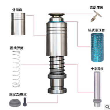 TRP外导柱 配合精度高 SUJ2耐磨材质 米思米标准 现货供应