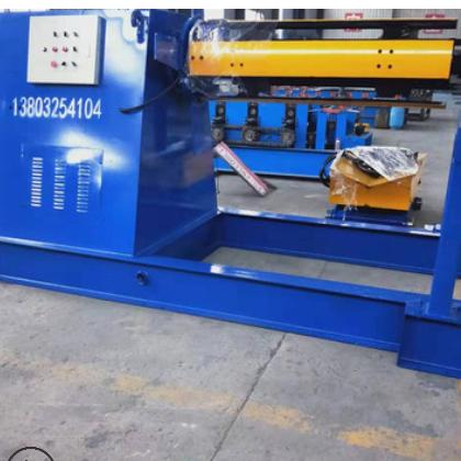 全自动液压开卷机价格 全自动放卷机镀锌板上料架方便操作