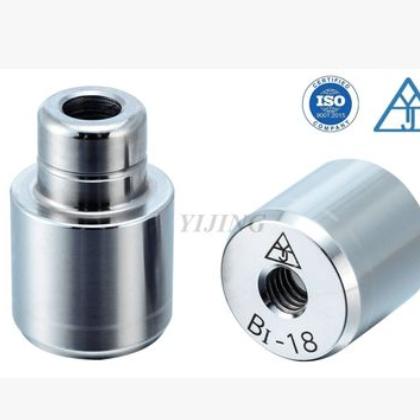 BI直导柱圆形辅助器直身导柱模具精定位带螺丝导柱S136精定位合模