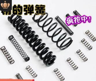 厂家定做五金压缩弹簧不锈钢304压簧 精密压力弹簧触摸弹簧