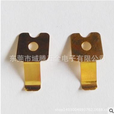 磷铜接触片 接地片 五金精密小弹片 铍铜弹片定做打样加工厂家