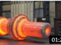 现代锻造技术真是强大,巨型钢材就像是糕点一样柔软 (351播放)