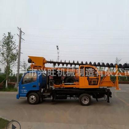 供应优质 双排座打桩机 小型汽车打桩机 保证质量