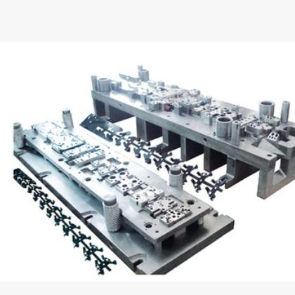 专业生产加工高精度五金冲压模具自动连续模产品一次成型