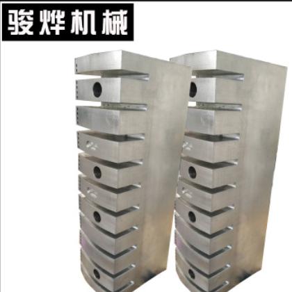 现货供应 CNC精密加工出风机头 可来图定制 工业钢型材配件