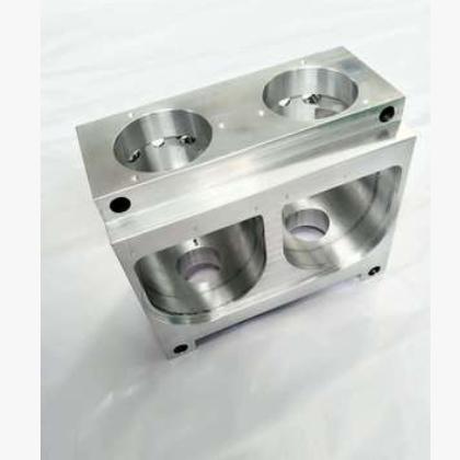 CNC加工铝件出料机头 来图定制 精密四轴加工五金产品零部件