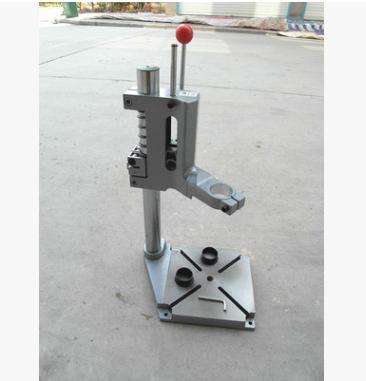 全新款电钻支架多功能全铸铁材料电钻变台钻齿轮减速精准型