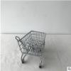 【展茂】儿童四轮滑行手推迷你超市购物车模型收纳摆件车玩具