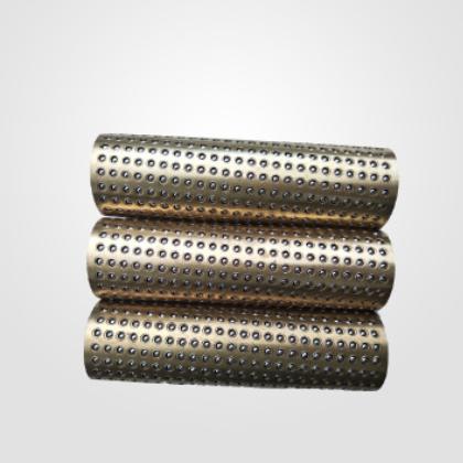 厂家生产滚珠保持架 铜制滚珠套保持架 滚珠套金属保持架批发定制