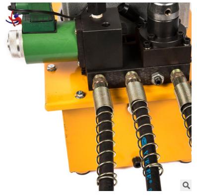 供应电动液压泵 ZCB系列超高压三油路液压泵大油量带仪表电动泵浦