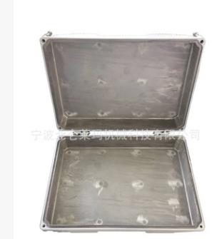宁波铝锌合金压铸件造IP65防水通讯直放站基站小机箱体外壳加工