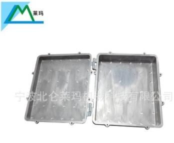 铝压铸带散热片防水防锈通讯基站机箱箱体