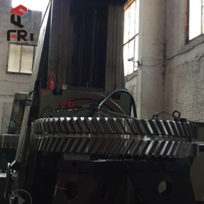 定做加工烘干机铸钢大齿轮齿圈 非标齿轮齿条同步加工
