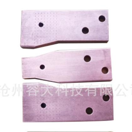 铜排 变压器导电用绝缘紫铜排 变压器配件铜排 五金冲压加工配件
