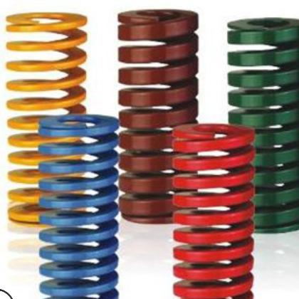 厂家批发合金钢模具弹簧压缩进口弹簧绿弹簧 重荷重弹簧定制