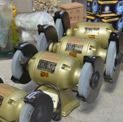 临海西湖125150200250mm台式砂轮机 声音轻全铜芯电机小型砂轮机