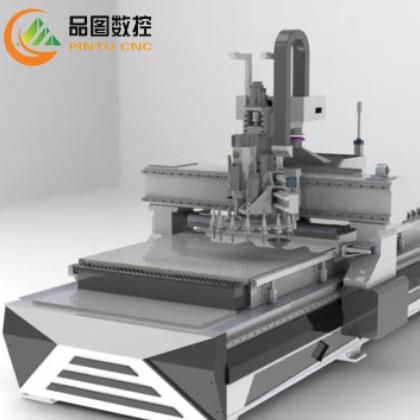 供应销售数控雕刻机 木工开料机 全自动数控开料机板式家具开料机