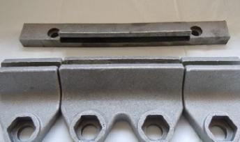 复合式破碎制砂机反击板冲击块 支持定制加工