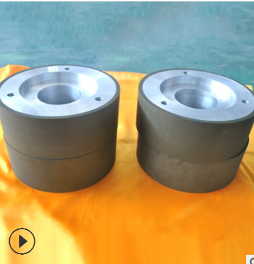 批发金刚石树脂砂轮 无心磨砂轮磨具定制 斜面硬质合金模具砂轮