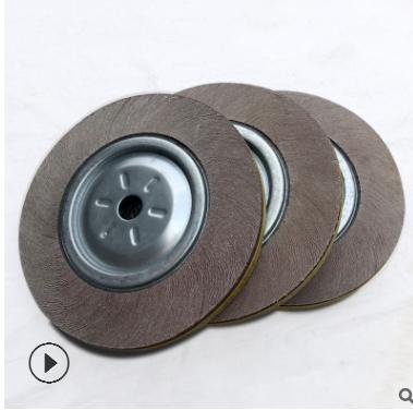 千叶轮 150*25*25孔(60目~80目)卡盘叶轮 砂布抛光轮页轮供应