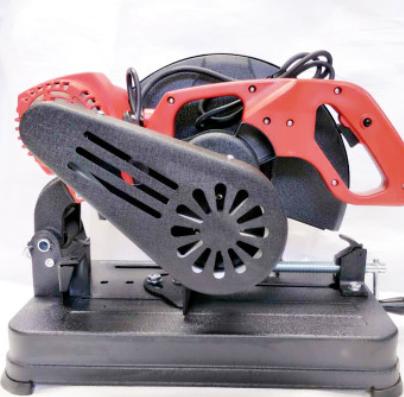 355型材切割机百闻监制电动工具优加钢材切割机 X6皮带式钢材机
