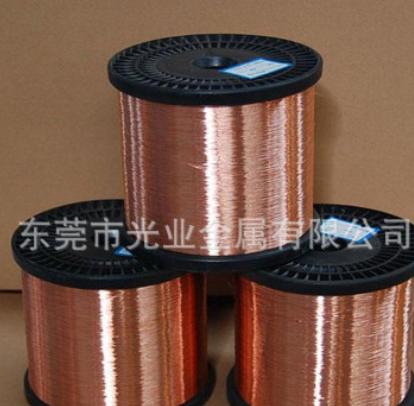 T2 紫铜线大量现货 手工工艺饰品软态黄铜丝H65 规格齐