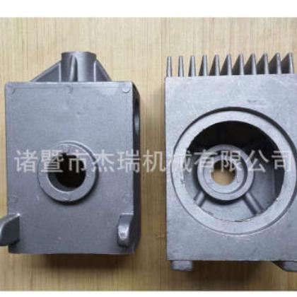 铝合金低压重力浇铸减速箱外壳 定做五金加工产品 锌铝压铸浇铸