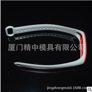 电子LED显示屏运动手表表带软胶产品模具