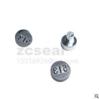 铅封刻字凹字(凸字)印字头钳子配套压案模具雕刻钢印压夹