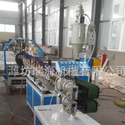 塑料挤出机 pvc管材设备 pvc软管挤出机 纤维管生产线 厂家定制