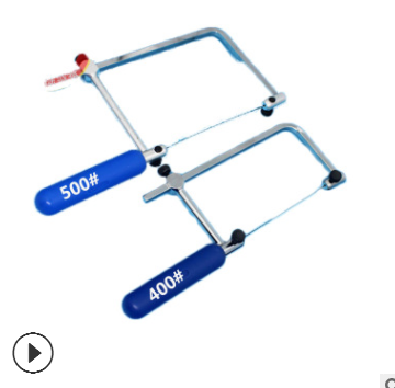 迷你拉花锯木工小手锯 U型锯线锯DIY镂空切割拉线锯子DIY模型锯弓