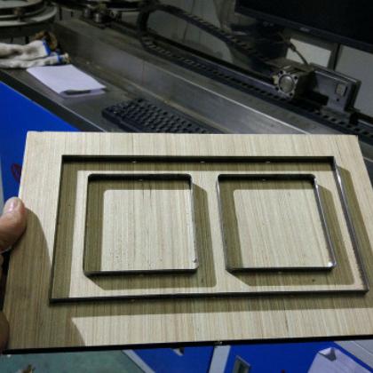 专业定做木板激光刀模公仔刀模不干胶刀具冲压刀模裁断刀方格冲刀