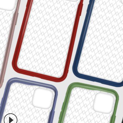 高质量双色凹槽二合一贴皮素材