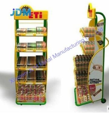 自选卖场生活商店超市架 便利店设备食品饮料架精品金属展示架