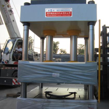 400T四柱三梁液压机 拉伸成型 切 冷压液压机 厂家直供 安装调试