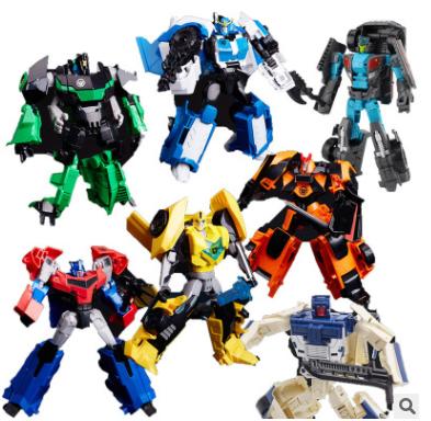 威将大黄蜂变形玩具金刚 L级动画合金版领袖的挑战 W8018玩具批