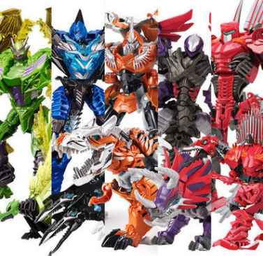 威将合金版变形玩具金刚5机器人霸王龙恐龙原版电影